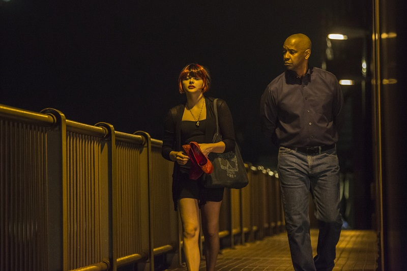 equalizer grace moretz denzel washington