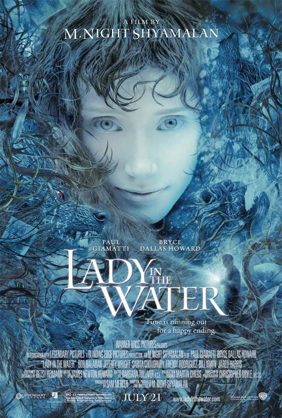 lady in the water - locandina