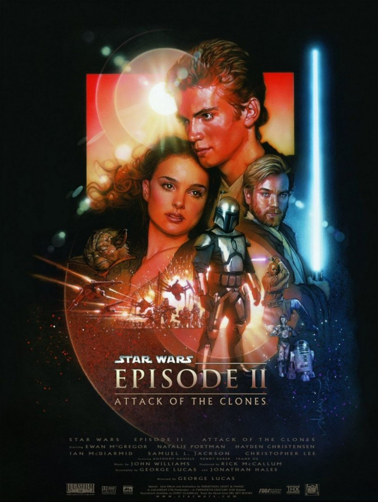 star wars episode II poster