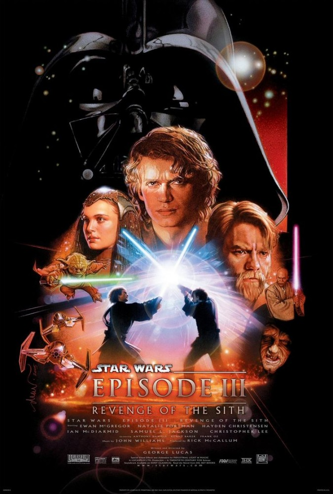 star wars episode III poster
